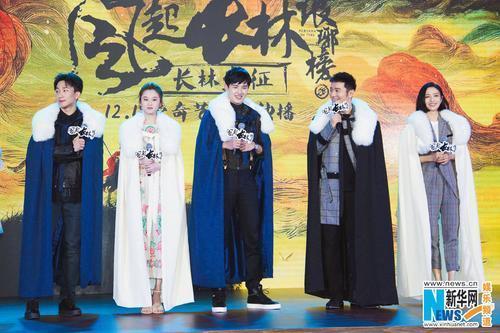 黄晓明谈《琅琊榜2》:萧平章与梅长苏有本质区别
